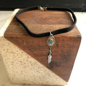 Jewelry - 🌟 Black Turquoise Chocker 🌟
